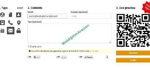 goqr-me-mail_ekleme