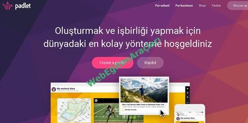 padlet_anasayfa Padlet