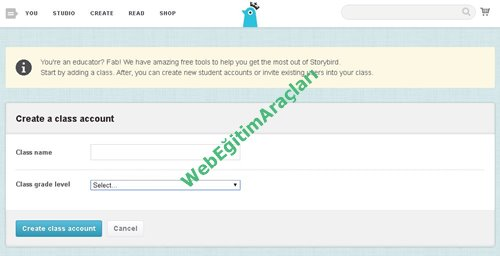 storybird_kayıt_sınıfsecme Storybird