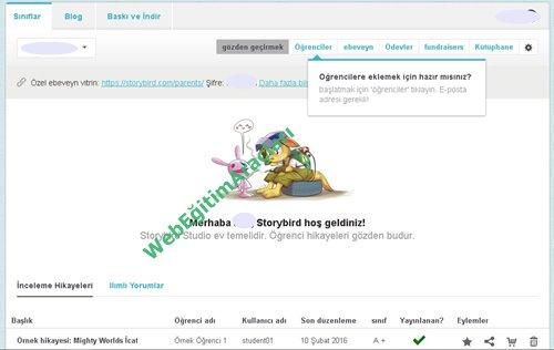 storybird_sınıf Storybird