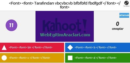 kahoot_yarisma1 Kahoot