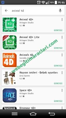 animal4d_androidyuklenmesi1 Animal 4D