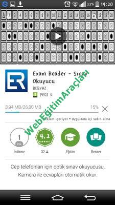 Exam Reader Web Eğitim Araçları
