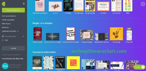 Canva Web 2.0 Uygulaması Tasarım