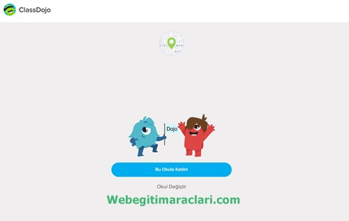 Class Dojo Web 2.0 Aracına Kayıt Olma