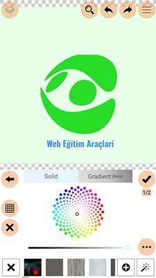 Logopit Maker Plus Renk Ayarları