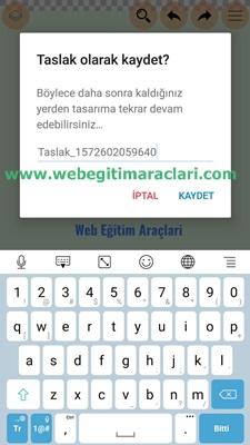 Logopit Maker Plus Logoyu Kaydetme